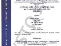 Certifikát č.2