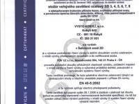 Certifikát č.5